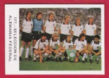 West Germany Team 177 82WC